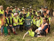 200,000th Tree Planting Day with Barrytown School photo credit Nicki Mora