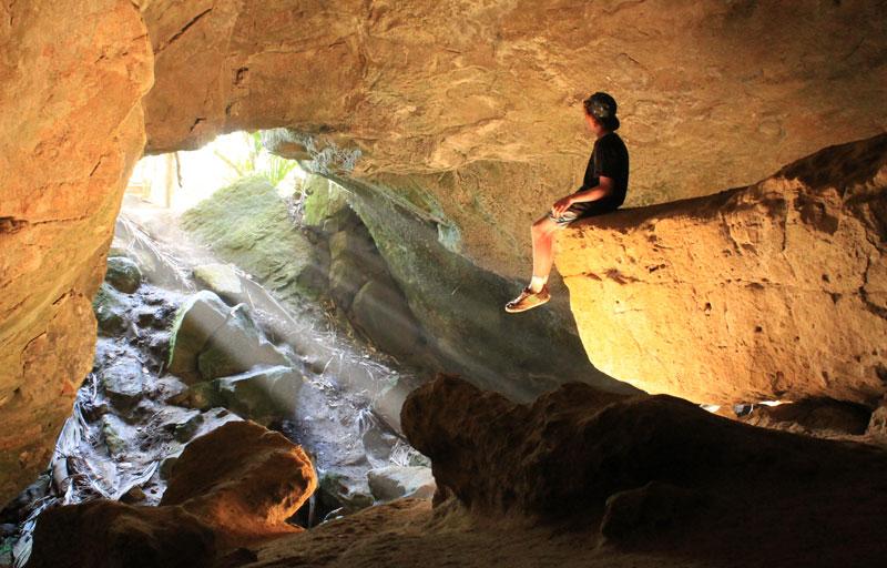 Punakaiki Cavern Walk